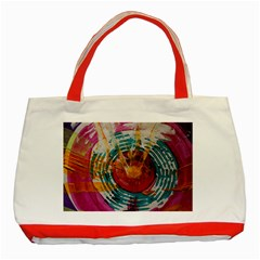 Art Therapy Classic Tote Bag (Red)
