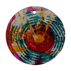 Art Therapy Round Ornament (two Sides)
