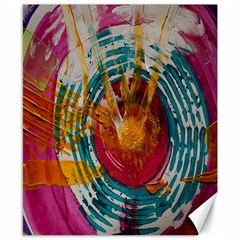 Art Therapy Canvas 8  x 10  (Unframed)