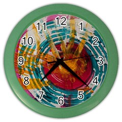 Art Therapy Wall Clock (color)