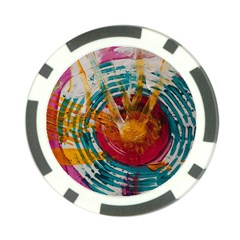 Art Therapy Poker Chip (10 Pack)