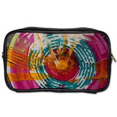 Art Therapy Travel Toiletry Bag (Two Sides)