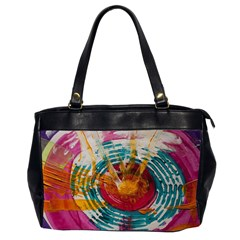 Art Therapy Oversize Office Handbag (two Sides)