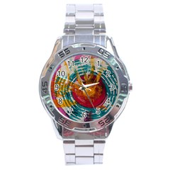 Art Therapy Stainless Steel Watch