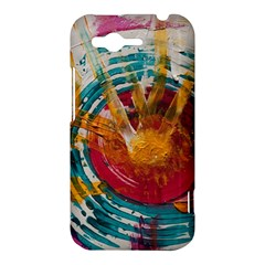 Art Therapy HTC Rhyme Hardshell Case