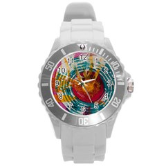 Art Therapy Plastic Sport Watch (large)