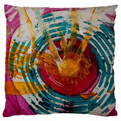 Art Therapy Large Cushion Case (single Sided)