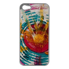 Art Therapy Apple iPhone 5 Case (Silver)