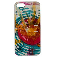 Art Therapy Apple Iphone 5 Hardshell Case With Stand