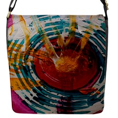 Art Therapy Flap Closure Messenger Bag (small)