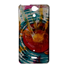 Art Therapy Sony Xperia V Hardshell Case