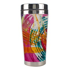Art Therapy Stainless Steel Travel Tumbler