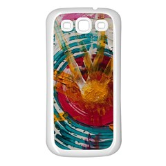 Art Therapy Samsung Galaxy S3 Back Case (White)
