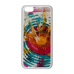 Art Therapy Apple iPhone 5C Seamless Case (White)