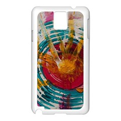 Art Therapy Samsung Galaxy Note 3 N9005 Case (White)