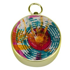 Art Therapy Gold Compass