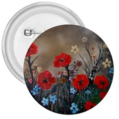 Poppy Garden 3  Button