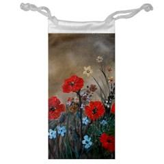 Poppy Garden Jewelry Bag