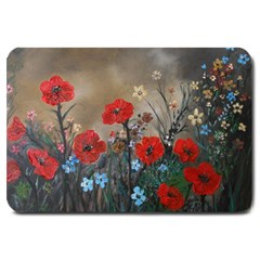 Poppy Garden Large Door Mat