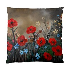 Poppy Garden Cushion Case (two Sided)