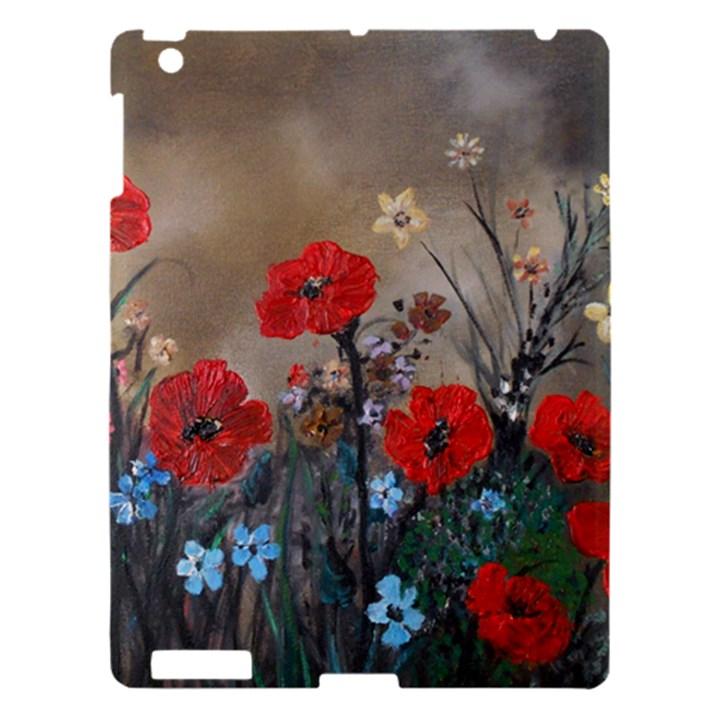 Poppy Garden Apple iPad 3/4 Hardshell Case