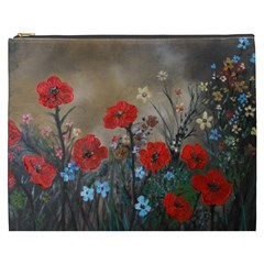 Poppy Garden Cosmetic Bag (XXXL)