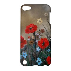 Poppy Garden Apple Ipod Touch 5 Hardshell Case