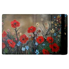 Poppy Garden Apple iPad 2 Flip Case