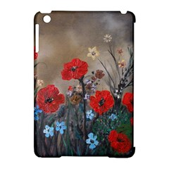 Poppy Garden Apple Ipad Mini Hardshell Case (compatible With Smart Cover)