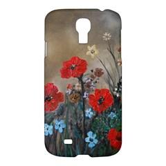 Poppy Garden Samsung Galaxy S4 I9500/i9505 Hardshell Case