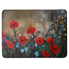 Poppy Garden Samsung Galaxy Tab 7  P1000 Flip Case