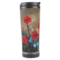 Poppy Garden Travel Tumbler