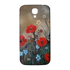 Poppy Garden Samsung Galaxy S4 I9500/I9505  Hardshell Back Case