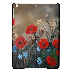Poppy Garden Apple iPad Air Hardshell Case