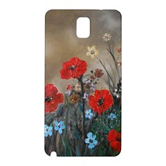 Poppy Garden Samsung Galaxy Note 3 N9005 Hardshell Back Case
