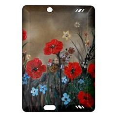 Poppy Garden Kindle Fire HD 7  (2nd Gen) Hardshell Case