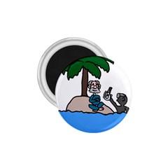 Desert Island Humor 1 75  Button Magnet