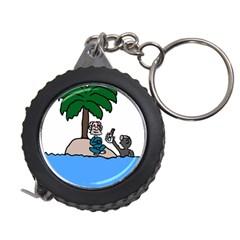 Desert Island Humor Measuring Tape