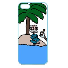 Desert Island Humor Apple Seamless Iphone 5 Case (color)