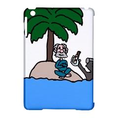 Desert Island Humor Apple Ipad Mini Hardshell Case (compatible With Smart Cover)