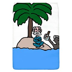 Desert Island Humor Removable Flap Cover (Large)