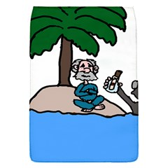 Desert Island Humor Removable Flap Cover (small)