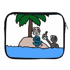 Desert Island Humor Apple Ipad Zippered Sleeve