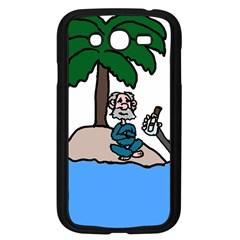 Desert Island Humor Samsung Galaxy Grand Duos I9082 Case (black)