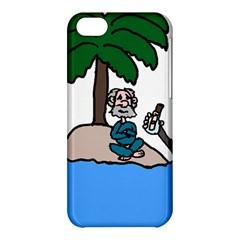 Desert Island Humor Apple iPhone 5C Hardshell Case