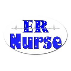 Er Nurse  Magnet (oval)