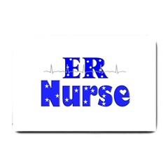 ER Nurse  Small Door Mat