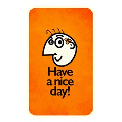Have A Nice Day Happy Character Memory Card Reader (rectangular)