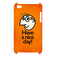 Have A Nice Day Happy Character Apple iPod Touch 4G Hardshell Case
