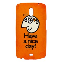 Have A Nice Day Happy Character Samsung Galaxy Nexus i9250 Hardshell Case